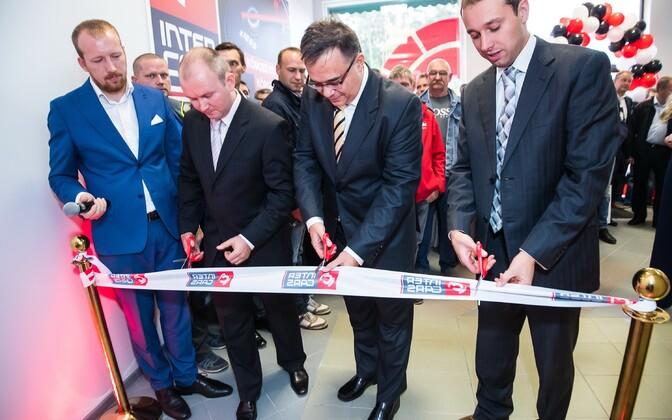 Poola börsifirma Inter Cars Tallinna esinduse avamine 28. septembril.