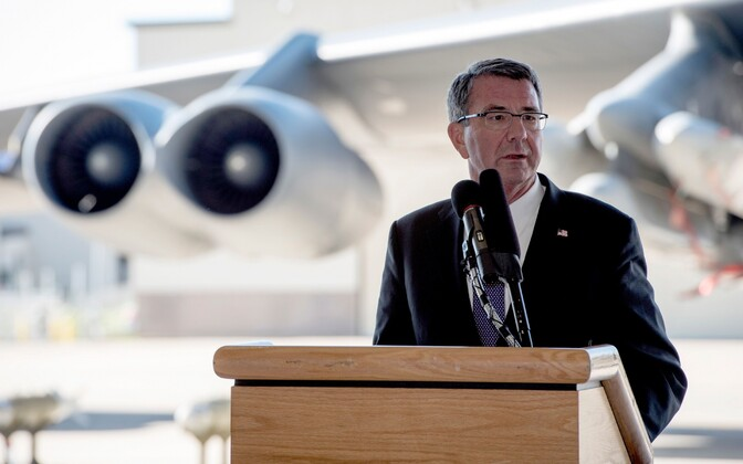 USA kaitseminister Ashton Carter.