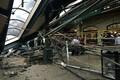Rongiõnnetus Hobokeni raudteejaamas.