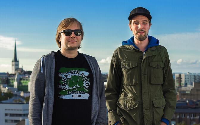 Dannar Leitmaa ja Karl-Andreas Kalmet