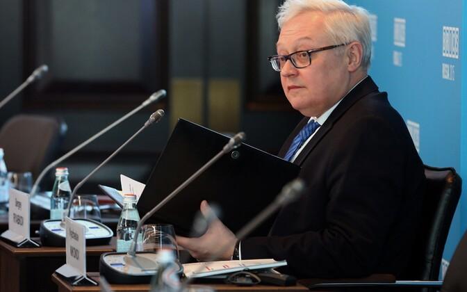 Vene asevälisminister Sergei Rjabkov.