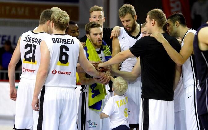 В прошлом сезоне тартусцы заняли в чемпионате Эстонии лишь третье место.