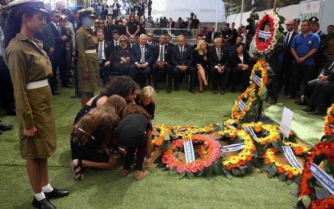 Shimon Peresi matused Jeruusalemmas.