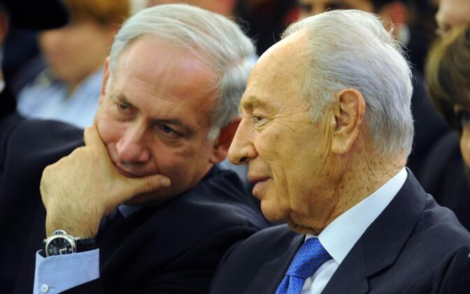 Netanyahu ja Peres 2009. aastal.