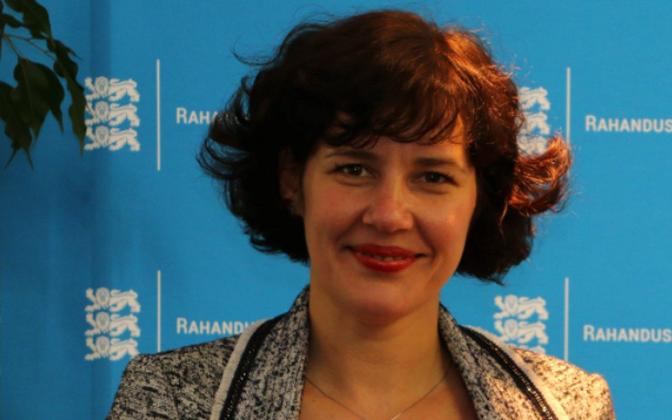 Läti rahandusminister Dana Reizniece-Ozola.