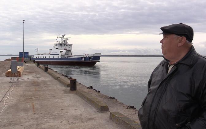 The Subsea Seven connects Saaremaa and Hiiumaa via its Triigi-Sõru route.