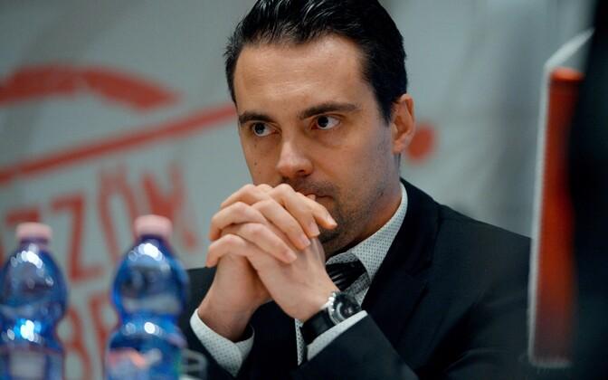 Erakonna Jobbik esimees Gabor Vona.