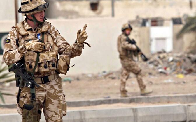 Briti sõdurid Iraagis 2009. aastal.