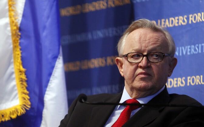 Soome endine president Martti Ahtisaari 2009. aastal.
