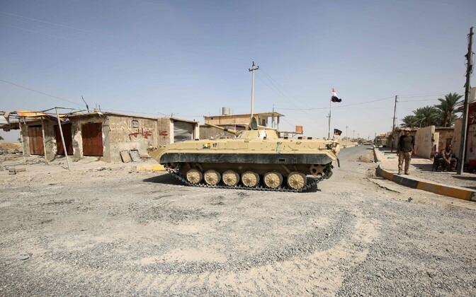 Iraagi valitsusvägede tank.