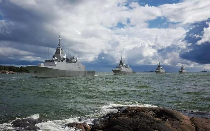 Uue sõjalaevade välimus esialgsete kavandite kohaselt.
