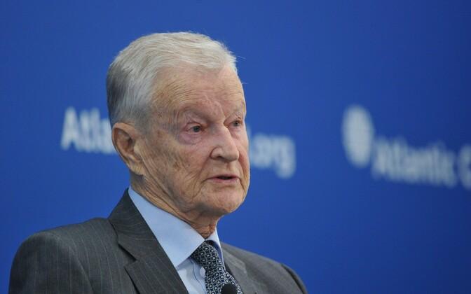 Zbigniew Brzezinski 2014. aastal Washingtonis.