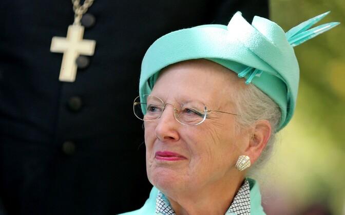 Taani kuninganna Margrethe II 2. oktoobril Wittenbergis.