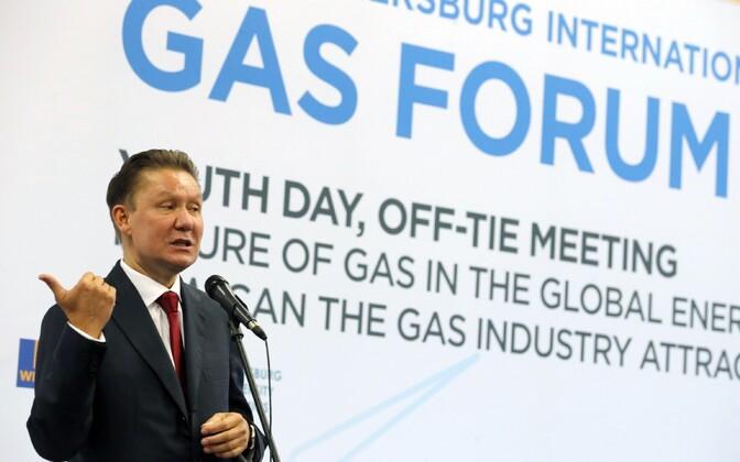 Gazpromi tegevjuht Aleksei Miller.