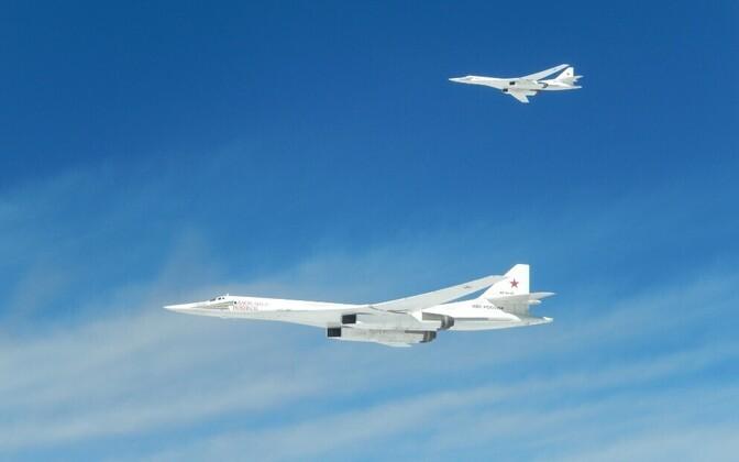 Venemaa pommituslennukid Tu-160 22. septembril.
