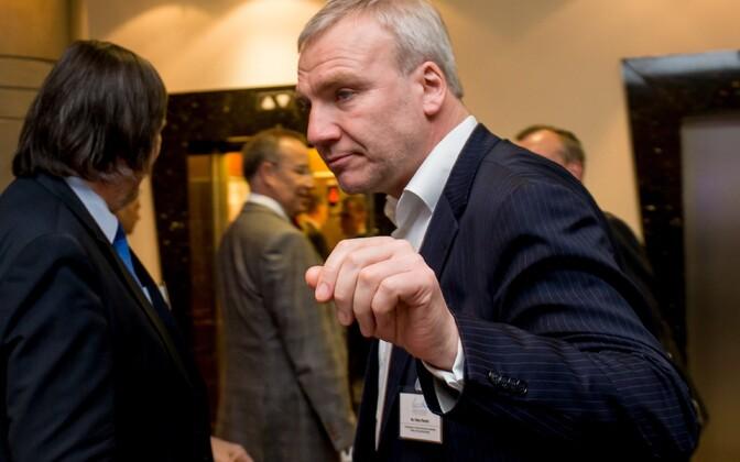 Väino Reinart at the 2014 Lennart Meri Conference.