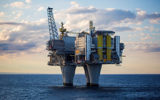Norra naftaplatvorm Põhjameres.
