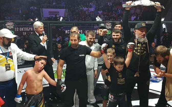 Laste MMA-turniir Groznõis.