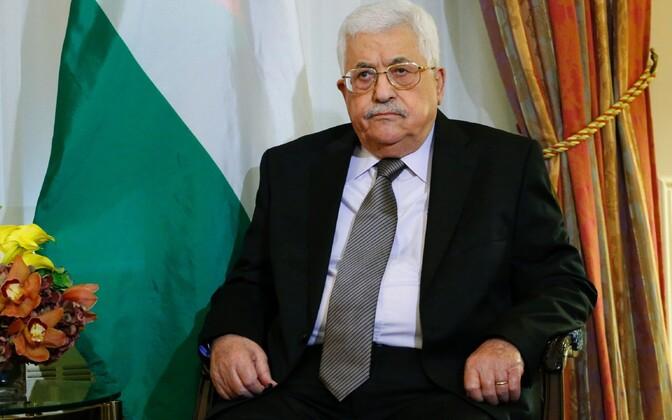 Palestiina omavalitsuse president Mahmoud Abbas.