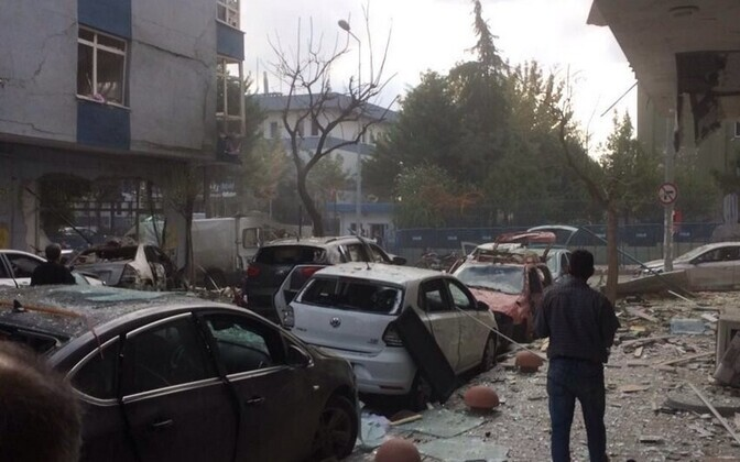 Plahvatus Istanbuli politseijaoskonna juures 6. oktoobril.