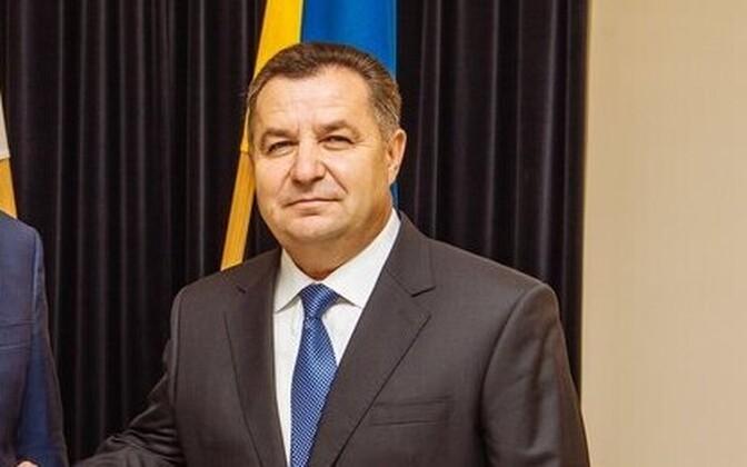 Ukraina kaitseminister Stepan Poltorak.