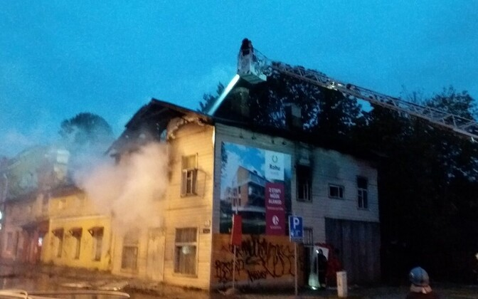 Tulekahju Põhja-Tallinnas.