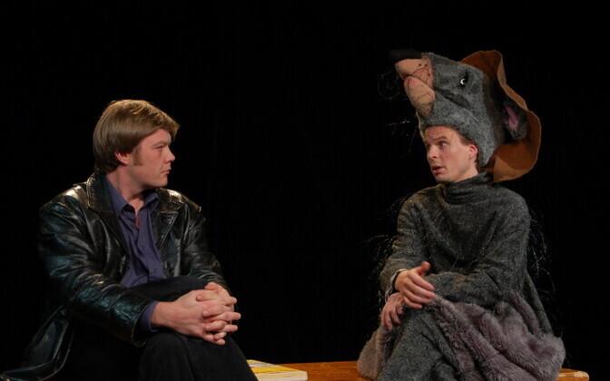 Margus Prangel ja Alo Kõrve Uku Uusbergi lavastuses