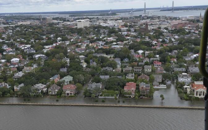 Üleujutused Põhja- ja Lõuna-Carolinas.