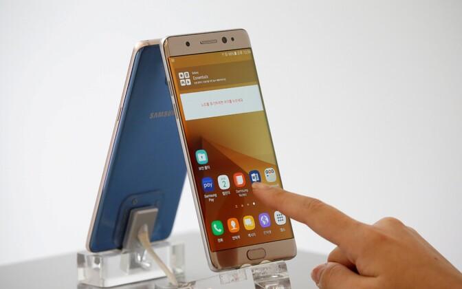Samsungi nutitelefon Galaxy Note 7.