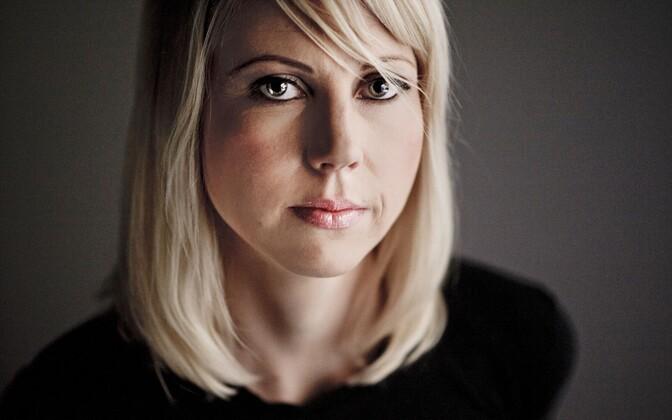 Laimu ohvriks sattunud Yle ajakirjanik Jessikka Aro.