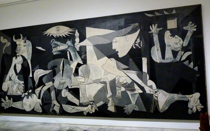 Pablo Picasso maal