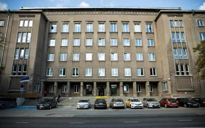 Endine sotsiaalministeeriumi hoone.