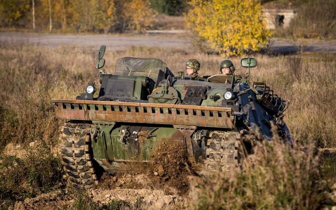 Машина поддержки пехоты СV-90