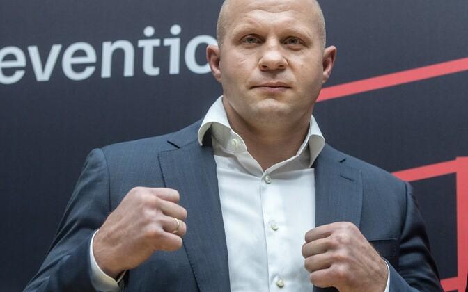 Vene MMA legend Fjodor Jemeljajenko.