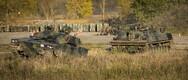 Kaitseväe 1. jalaväebrigaad tutvustas jalaväe lahingumasinaid CV9035.