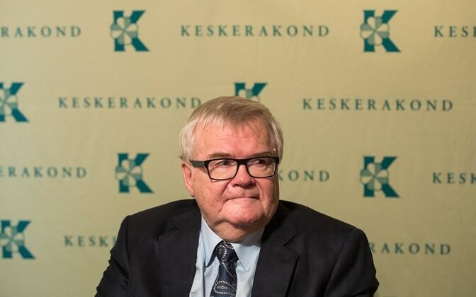 Edgar Savisaar, the Center Party's longtime former chairman.