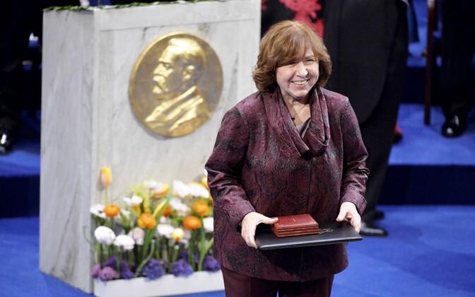 2015. aastal pälvis Nobeli kirjanduspreemia Svetlana Aleksijevitš.