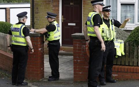 Briti politseinikud.