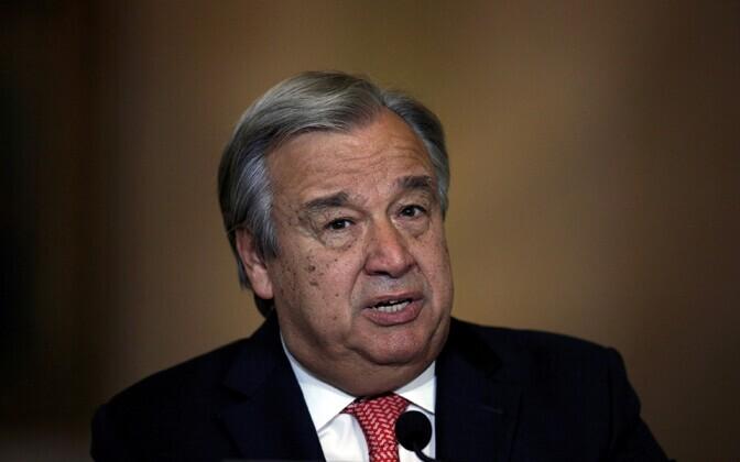 ÜRO järgmine peasekretär Antonio Guterres.