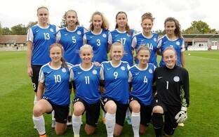 Eesti naiste U-17 jalgpallikoondis