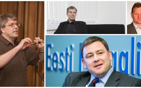 Jaak Vilo, Robert Kitt, Andres Koppel ja Elar Vilt.