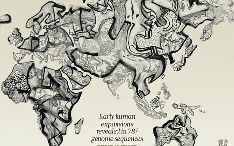 Markus Kasemaa graafiline joonis teadusajakirja Nature esikaanel.