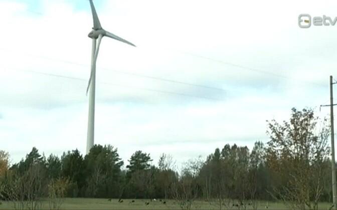 Rajatud tuulikud on detailplaneeringuga ette nähtust oluliselt kõrgemad