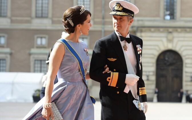 Taani kroonprints Frederik koos abikaasa Maryga.