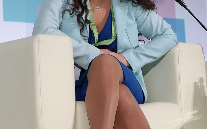 Russia Today peatoimetaja Margarita Simonjan.