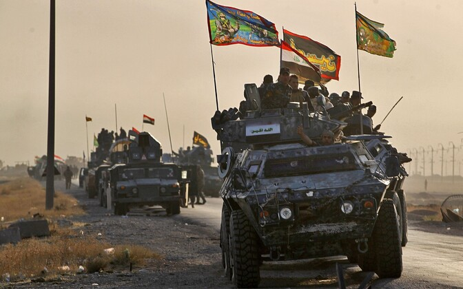 Algas operatsioon Mosuli tagasivõtmiseks.