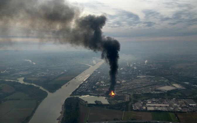 BASF-i keemiatehase plahvatus.
