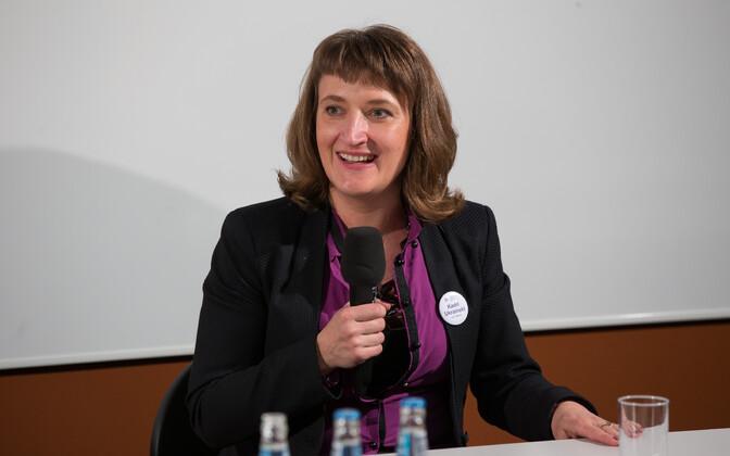Tartu ülikooli teadus- ja innovatsioonipoliitika professor Kadri Ukrainski.
