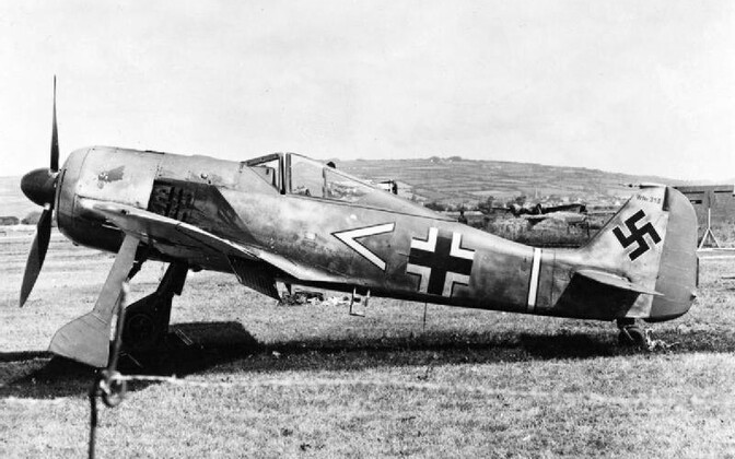 Focke-Wulf Fw 190A-3.