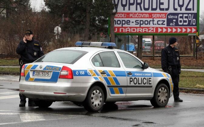 Tšehhi politseinikud, arhiivifoto.